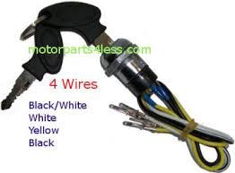 fs529 x7 2stroke 49cc pocket bike wire harness motorparts4less com 2 stroke 49cc pocket bike x1 x2 4 wire black key switch