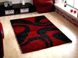 black area rugs medium size of home mesmerizing round modern and red chevron rug