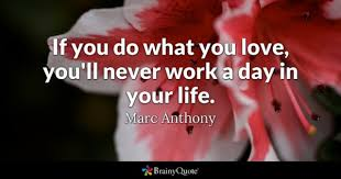 Do What You Love Quotes Stunning Do What You Love Quotes BrainyQuote