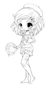 Best Free Chibi Anime Girls Coloring Pages Free Kids Children And