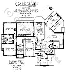 south hampton manor house plan house plans by garrell associates House Plans From Home Builders south hampton manor house plan 04163, 2nd floor plan Family Home Plans