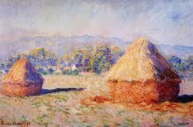claude monet 1840 1926 grainstacks in the sunlight morning effect oil on