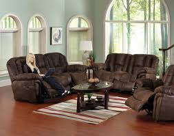 Leather Reclining Living Room Sets Chocolate Faux Leather Contour Reclining Sofa Loveseat Set
