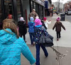 children donate warm clothes homeless winter canada tara