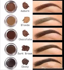 high quality pomade um brown waterproof makeup eyebrow 4g blonde chocolate dark brown ebony auburn um brown ebony semi permanent makeup thin