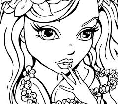 Small Picture Girls Coloring Pages Best Coloring Pages adresebitkiselcom
