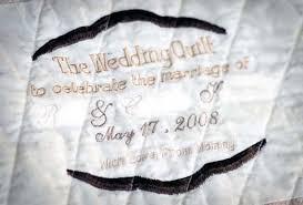Wedding Quilt &  Adamdwight.com