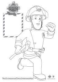 Kleurplaat Brandweerman Sam Van Hoorne Entertainment