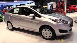 ford fiesta 2015 sedan. Perfect 2015 2015 Ford Fiesta Sedan  Exterior And Interior Walkaround Chicago  Auto Show YouTube Inside 1