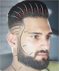 Barber Hairstyles Chart 17 Best Ideas About Barber Haircuts On Pinterest Elegant