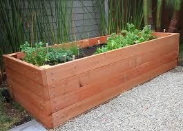 how to build a raised garden planter