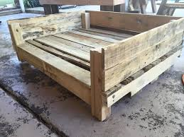 pallet dog bed plans diy rustic contemporary comfy place sleep
