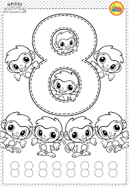 This printable ensemble of coloring worksheets is specifically designed to make learning fun for little cherubs! 62 Number Coloring Pages Free Printable Worksheets Picture Inspirations Samsfriedchickenanddonuts