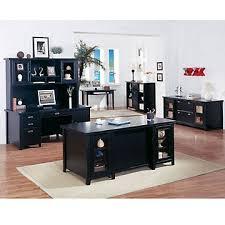 home office black desk. tribeca loft black office group home set desk