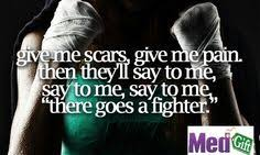 Fighter Quotes on Pinterest   Fight Quotes, Keep Fighting Quotes ... via Relatably.com