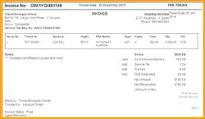 Travels Bill Book Format Travel Receipt Format Ticket Receipt Template Travel Invoice
