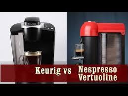 Keurig Coffee Maker Vs Nespresso Vertuoline Coffee And Espresso