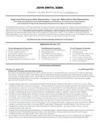 Pharmaceutical Sales Resume Templates – Poquet