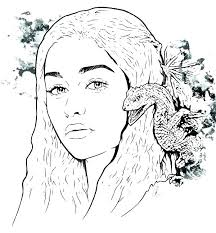 Game Of Thrones Coloring Book Finished Pages Game Of Thrones