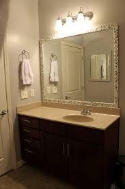 diy bathroom mirror frame. Decorating Bathroom Mirror Frame Ideas Diy Images Also