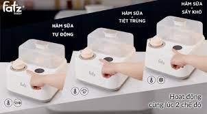 Máy tiệt trùng sấy khô hâm sữa điện tử có tích hợp máy hâm sữa - CAPTAIN 1  - FB4320SJ