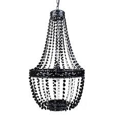 tadpoles beaded chandelier black onyx black beaded chandelier e64