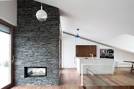 fireplace design idea 6 diffe materials to use for a fireplace surround stacked