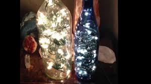 Making Wine Bottle Lights Pinterest Diy Wine Bottle Filled With Lights Aka Bottles