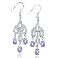 chandelier earrings australia vintage style lavender chandelier earrings bridal chandelier earrings australia