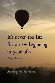 I Want A New Beginning In My Life Et Jespère Que Nous