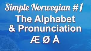 En it is based on the international phonetic alphabet with a few differences, such as j and y, which. Simple Norwegian 1 The Alphabet Pronunciation Youtube