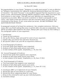 to do well on an essay exam how to do well on an essay exam