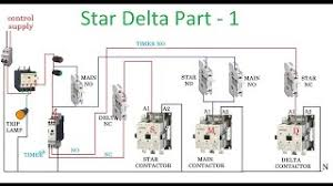 direct online starter dol starter dol starter connection star delta starter motor control circuit diagram in hindi part 1
