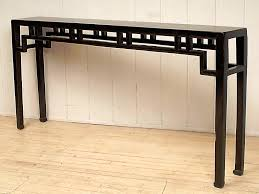 black sofa table with storage. Extra Long Console Table For Hallway Black Sofa With Storage