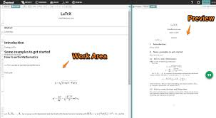 overleaf com is a tool for writing and publishing technical papers you can easily create a science paper with mathematical equations using latex