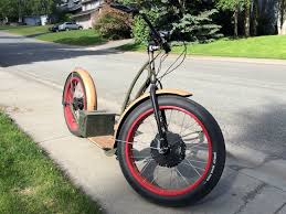 all terrain fat tire electric scooter version 2
