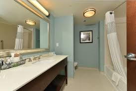 white simple guest bathroom decor ideas with track lighting and other images gallery