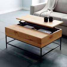 industrial storage coffee table west elm uk rustic storage coffee table west elm