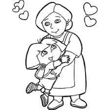 Coloringonly has got big collection of printable dora coloring sheet for free to download, print and color in your free time. Dora Coloring Pages Free Printables Momjunction