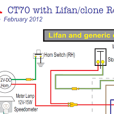 honda ct70 lifan & clone engine 12 volt wiring diagram home of lifan 125cc pit bike wiring diagram at Lifan 110 Wiring Diagram