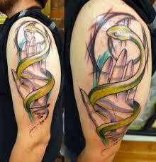 татуировка змея значение фото и эскизы тату змея