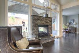 indoor outdoor wood burning fireplace double sided fireplace