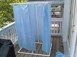 pvc outdoor shower enclosure designs
