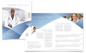 healthcare brochure templates free download nursing school hospital brochure template word publisher