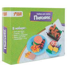 """Набор для лепки из <b>теста</b> """"Пикник"""" <b>Color Puppy</b> 637005"""