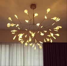 moooi heracleum small led chandelier lighting firefly pendant light fixtures by bertjan pot from moooi suspension lamp home lighting chandelier moooi