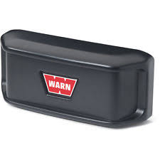 warn winch parts 60390 warn winch roller fairlead black snap on cover
