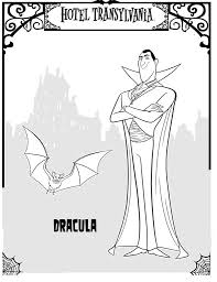 22 hotel transylvania coloring pages
