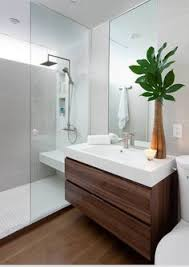 modern white bathroom ideas. Delighful Ideas This Beautiful White Bathroom Is Complemented Perfectly By The Addition Of  A Large Wall Hung Vanity Intended Modern White Bathroom Ideas