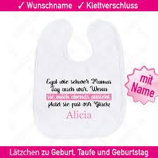 Mädchen Sprüche Lätzchen Name Geschenk Spruch Babylätzchen